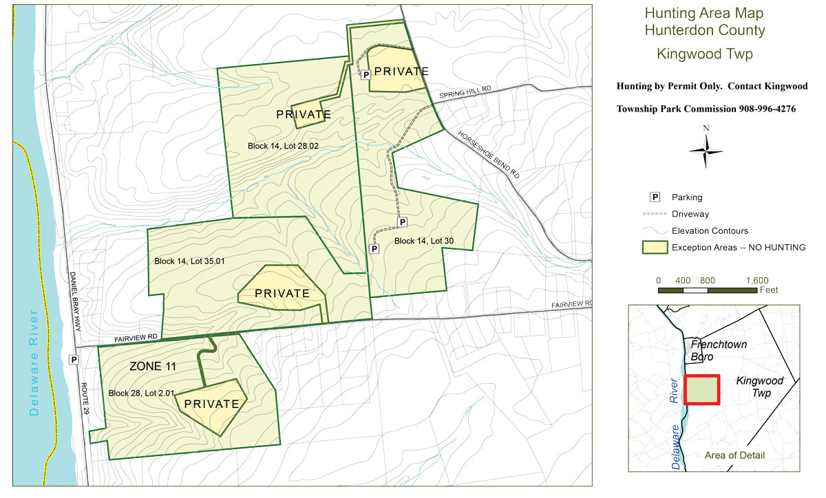 Kingwood Township Hunting Map
