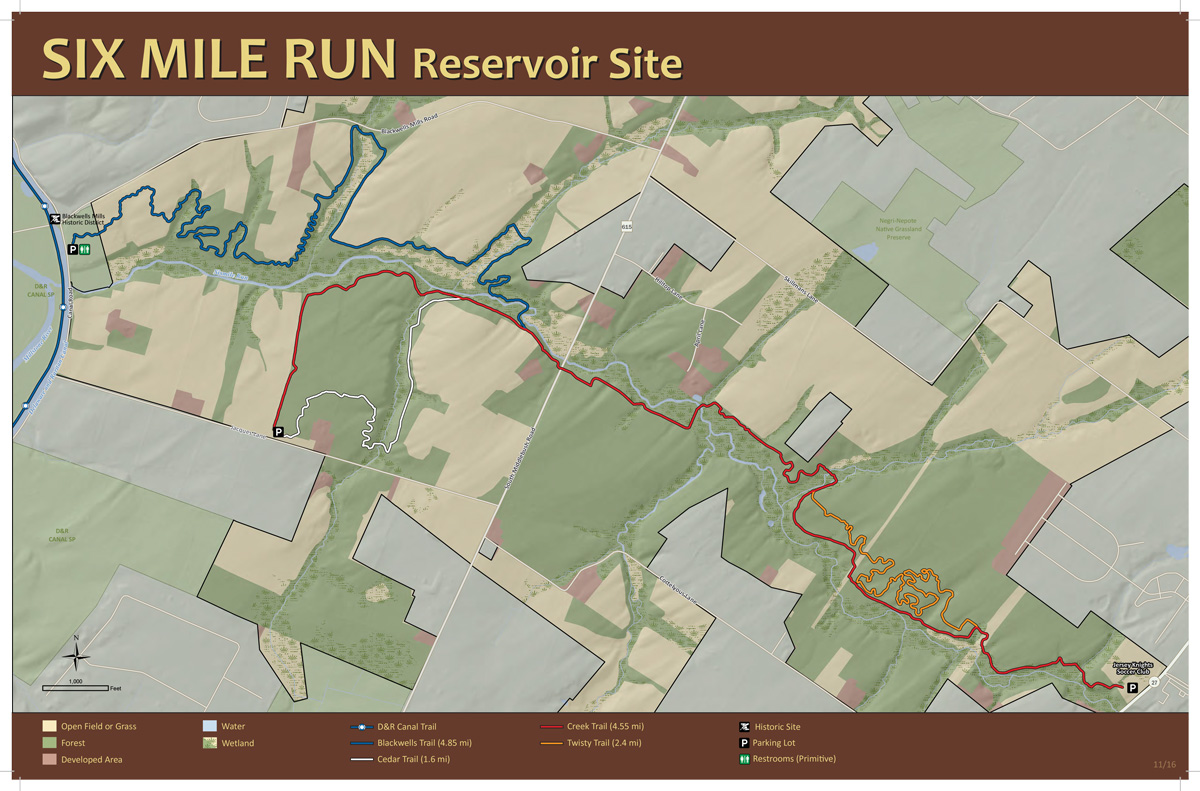 Six Mile Run Reservoir Site